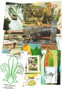 10 different Sao Tome e Principe Souvenir and Miniature Sheets packet